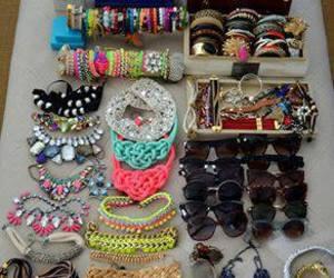bracelet, accessories, and sunglasses image