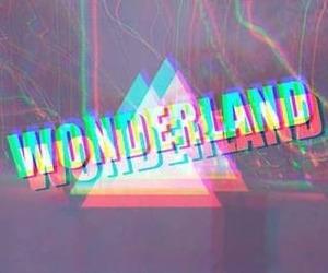 wonderland, 3d, and hipster image