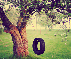 beautiful, memories, and swing image