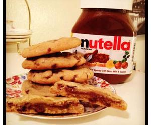 nutella, dubtrackfm, and Cookies image