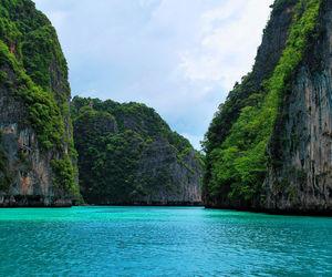 nature, blue, and paradise image