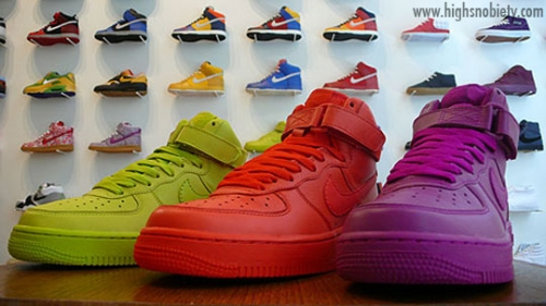colorful and nike image
