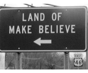 land of make believe, black and white, and green day image