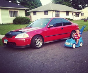 brother, civic, and heart image