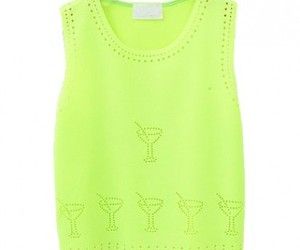 green, tanks, and fashion style image