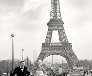 paris, love, and wedding image