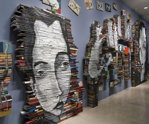 book and art image