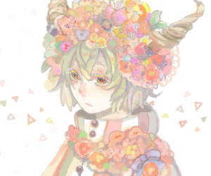 draw, adroble, and flower image