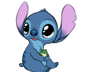 stitch, disney, and frog image