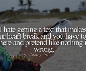 broken, quotes, and text image