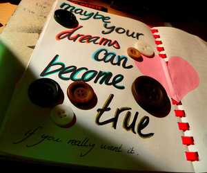 can, diary, and dreams image