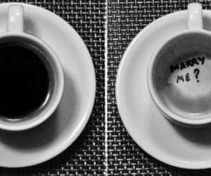 coffe, coffee, and marry me image