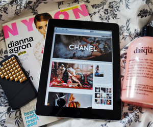 chanel, ipad, and iphone image
