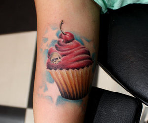 tattoo and muffin image