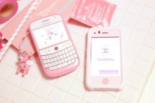 pink, blackberry, and chanel image