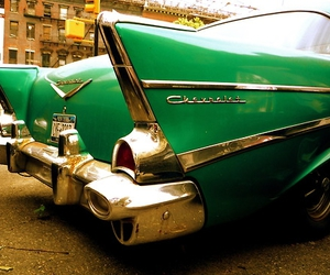 chevrolet and green image