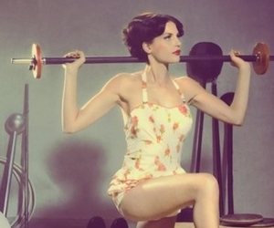 Stronger, gym hard, and now days life beauty image