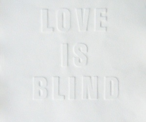text and love is blind image