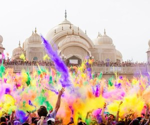 india, color, and festival image