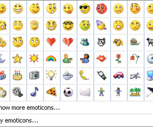 2000s, 90s, and emoticons image