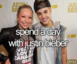 justin bieber and before i die image