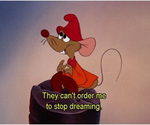 Dream, cinderella, and mouse image