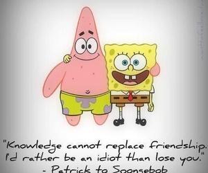 spongebob, patrick, and friendship image