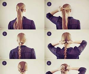 braid, colorfull, and creative image