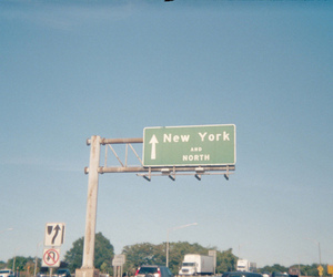 new york, north, and street image