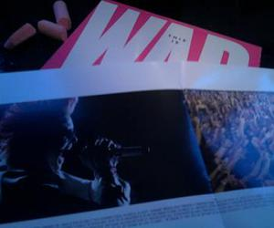 30 seconds to mars, jared leto, and this is war deluxe pink image