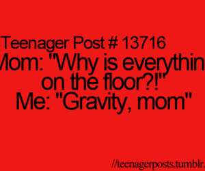 gravity, funny, and mom image