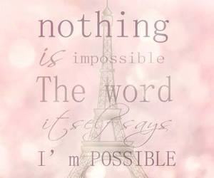 quote, pink, and paris image