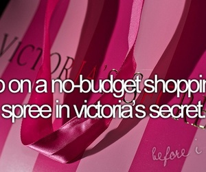 Victoria's Secret, before i die, and text image