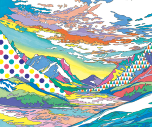 abstract, art, and colors image