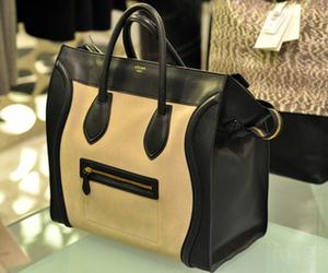 bag, celine, and girl image