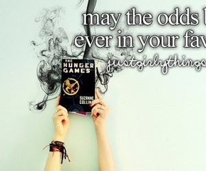 hunger games, the hunger games, and justgirlythings image