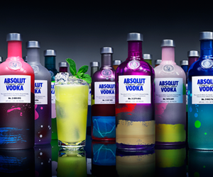 absolut, arte, and drink image