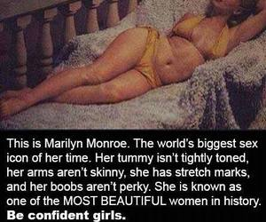 beautiful, fitness, and Marilyn Monroe image
