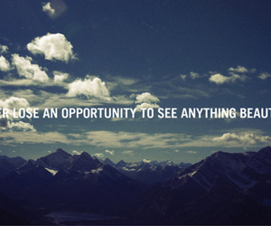 opportunity, quote, and sky image