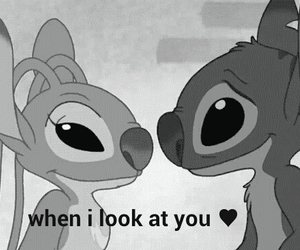 love, stitch, and cute image