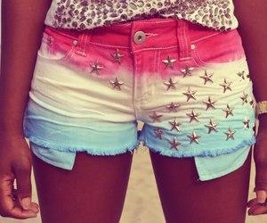 shorts, stars, and short image