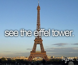 france, paris, and bucket list image