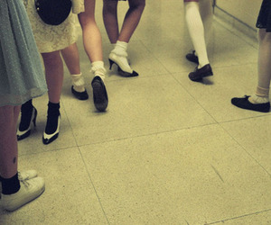 girl, petra collins, and shoes image