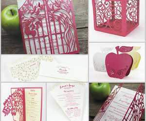 laser cut, pretty, and red image