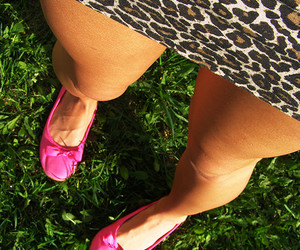 grass, leopard, and shoes image