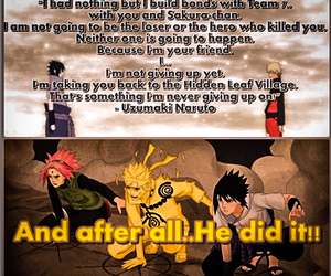 anime, naruto, and quote image