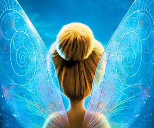 peter pan, tinkerbell, and tinker bell image