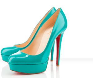 heels, christian louboutin, and shoes image
