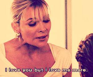blonde, quotes, and SexAndTheCity image