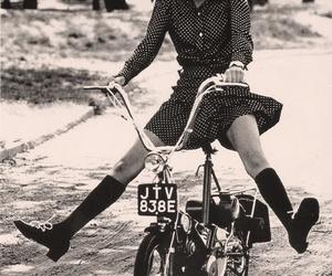 60's, bike, and 60s image